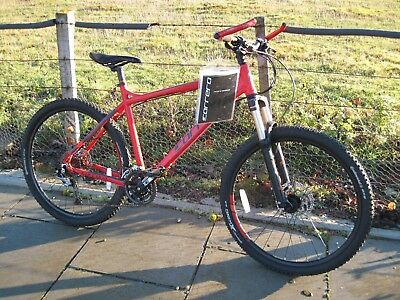 196d1445e30 CARRERA KRAKEN RED Men's Mountain Bike - Barely Used - Superb Condition -  £200.00 | PicClick UK