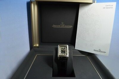 Jaeger LeCoultre Reverso Grande Taille Shadow, B&P, Service, Ref.271.8.61