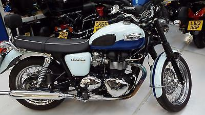 2008 Triumph Bonneville T100 865 Ltd Edition 50th Anniversary 6000
