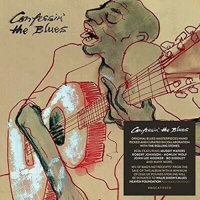 Confessin The Blues - Various Artist (2018, CD NEUF)2 DISC SET