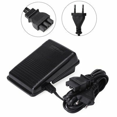 Home Sewing Machine Foot Control Pedal & Cord EU/US Plug For Singer High Quality