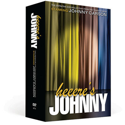Johnny Carson Definitive Collection w/ BONUS Xmas DVD - It's the Best of Carson!