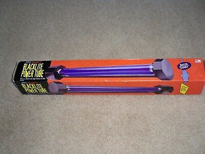 "Nib Lite F/x 18"" Fluorescent Light Fixture & Tube Model 1901 Halloween Edition"