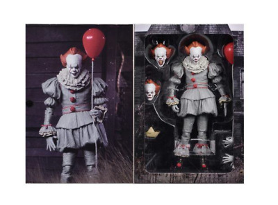 NECA Ultimate Pennywise The Clown IT Movie 2017 7 Inch Action Figure