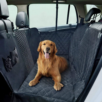Dog Car Seat Covers,Pet Cover for Back of Cars/Trucks, Waterproof Hammock Dogs