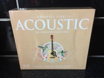 Greatest Ever! Acoustic The Definitive Collection 3 CD Box Set New & Sealed