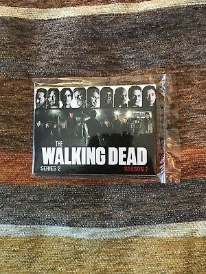 2017 AMC Network The Walking Dead Season 7 Promo Card Set Series 2 (10 cards)