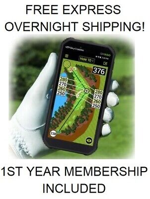2019 SkyCaddie SX500 New In Box First Year Membership Included SX 500 Free Ship