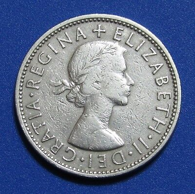 1961 Great Britain 2 Florin Shilling