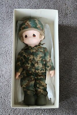 "Precious Moments ""I'm In the Lord's Army"" Boy Doll In Original Box"