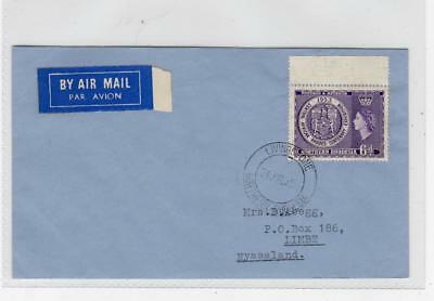 NORTHERN RHODESIA: 1954 Air Mail cover (C37126)