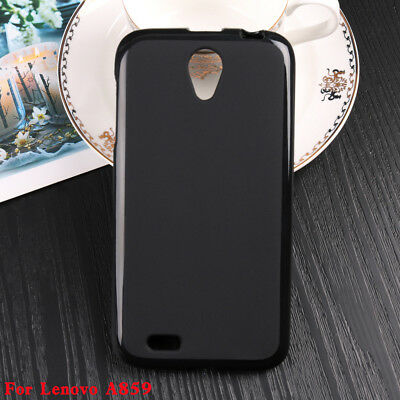 For Lenovo A859 Soft Pudding TPU Silicone Back Cover Case Protector