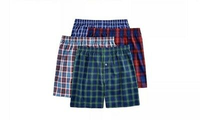Fruit Of The Loom Mens 8-Pack Tag Free Boxers Short 2XL 3XL !