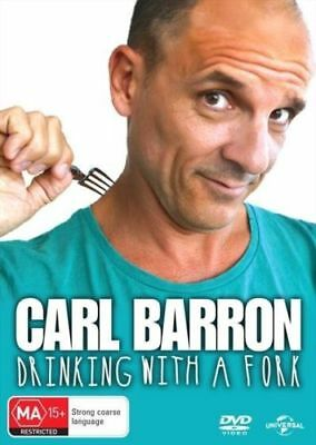 Carl Barron Drinking With A Fork BRAND NEW Region 4 DVD