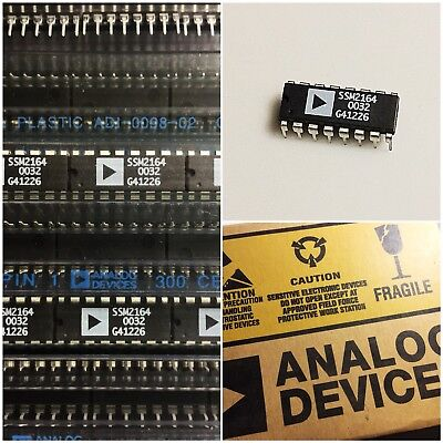 SSM2164 IC Analog Devices NOS Quad Voltage Controlled Amplifier (VCA) 🇺🇸