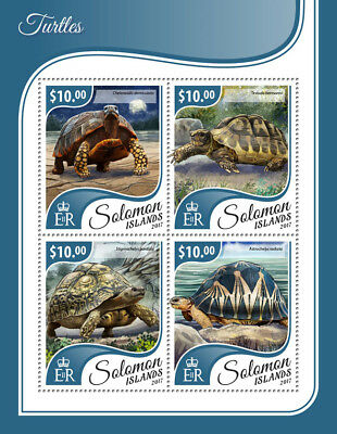 Salomonen Australien, Ozean. & Antarktis Z08 Slm17311ab Solomon Islands 2017 Stamps On Stamps Mnh ** Postfrisch Set
