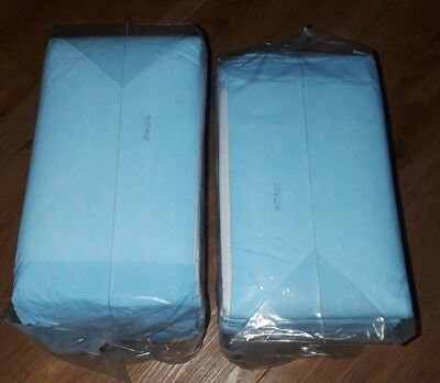 40 CT 23x36 Adult Disposable Bed Wheel Chair Incontinence Under Pad Underpads