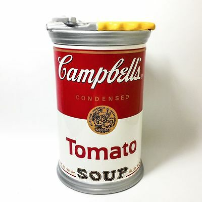 CAMPBELL'S TOMATO SOUP ~ CAN OPENER ~ COOKIE JAR ~ Original Packaging NEW IN BOX