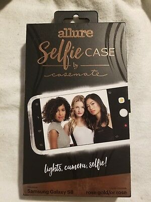 size 40 e10a1 a3bbb CASE-MATE ALLURE SELFIE Case Cover for Samsung Galaxy S8 - Rose Gold ...