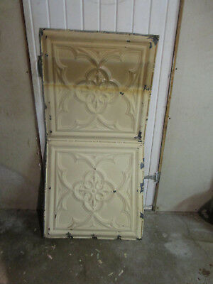 Antique Decorative Tin Ceiling Double Tile Panel (4'x2'), #119