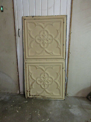 Antique Decorative Tin Ceiling Double Tile Panel (4'x2'), #122