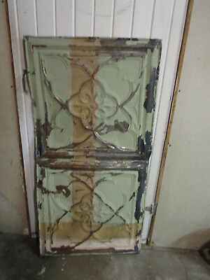 Antique Decorative Tin Ceiling Double Tile Panel (4'x2'),#106