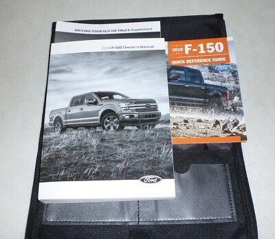 Ford F Owners Manual Set Guide  W Case Xl Xlt Lariat