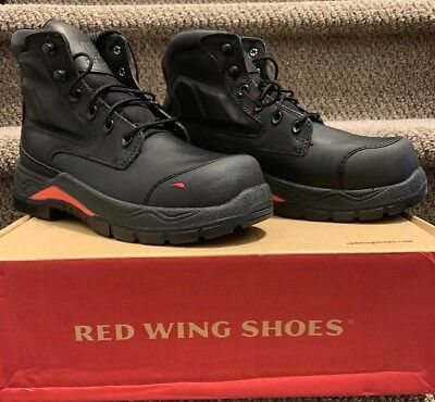 10064274340 NEW!! RED WING 2407 King Toe ADC Lace Up Safety Work Boot Men's Euro 39 US 7
