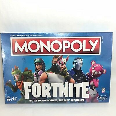 Fortnite Monopoly BOARD GAME Authentic HASBRO Gaming Edition IN STOCK New 2018