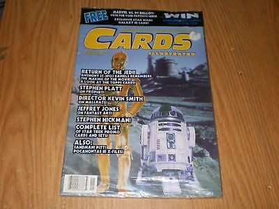 MIP Sealed Cards Illustrated Star Wars CP3O R2D2 + Promo Galaxy III Card