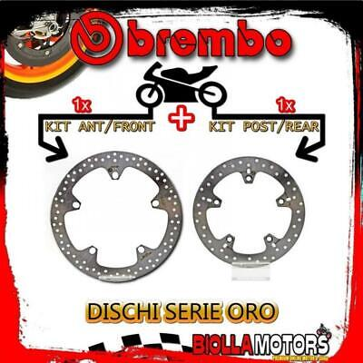 Brdisc-534 Kit Dischi Freno Brembo Bmw R 1200 R 2008-2012 1200Cc [Anteriore+Post
