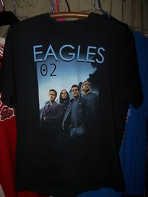 Eagles - 02 Tour    T- Shirt - Size L- Used