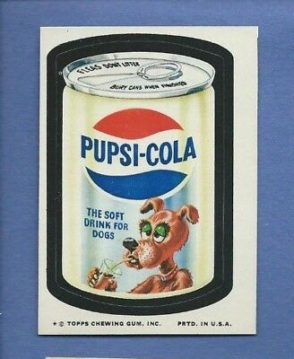 Wacky Packages Series 10 Pupsi Cola Nm