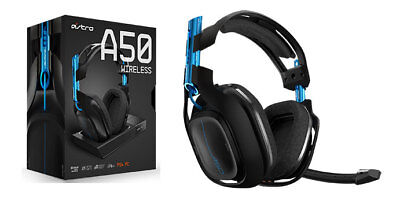ASTRO Gaming A50 Wireless Dolby Headphone 7.1 Gaming Headset PlayStation 4 + PC