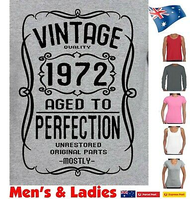 50th Birthday T shirt for 1969 Funny t shirts Vintage Present gift size new tee