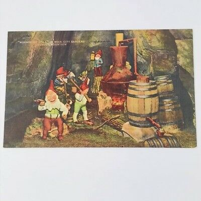Vintage Moonshine Still Dwarfs Fairyland Caverns Rock City Lookout Mountain