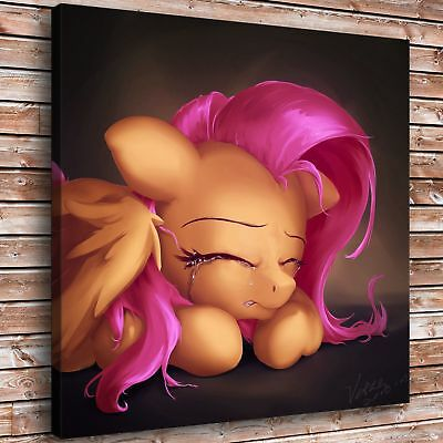 """My Little Pony 24x24"""" Picture Home Decor HD Canvas prints Room Wall art Painting"""