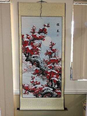 NEW Traditional Chinese Scroll Painting / Hand painted in Watercolour