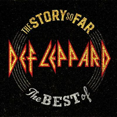 The Story So Far Def Leppard Audio CD Discs: 2 Rock 2018 NEW FREE SHIPPING