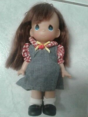 Precious Moments Collectible Girl Standing Doll 2002 Rubber/Hard Plastic