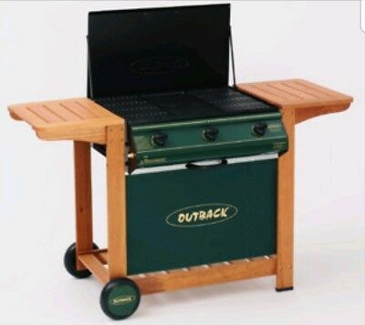 Outback Garden BBQ Barbecue Summer Patio **RRP £439** INCLUDES GAS BOTTLE**