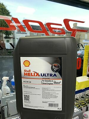 Long life Shell HELIX BMW VW AG 5w-30 C3 Fully Synthetic Engine Oil 20L Dexos 2