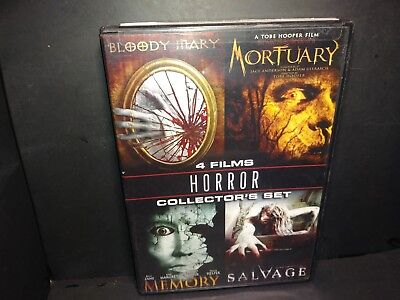 Horror Collector Set (DVD, 2009 Double Sided Disc) B251