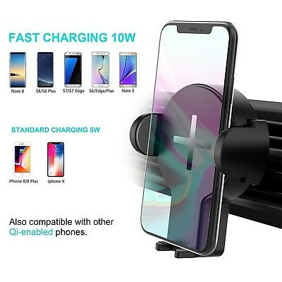 STEANUM SCHNELLES WIRELESS Auto Charger, 2 in 1 Qi KFZ
