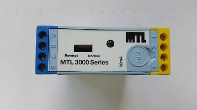 MTL MTL-3012 Solid State Switch Proximity Detector Relay - New