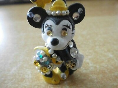 Walt Disney Bully Strass Brosche Minnie Mouse