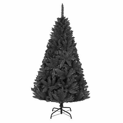 Deluxe Quality Black Imperial Pine Christmas Tree Xmas Home Decorations Decor