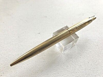 1960s Parker Jotter Gold Imperial Ball Pen Near Mint Condition Smooth button