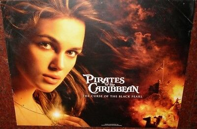 Pirates Of The Caribbean:the Curse Of The Black Pearl Johnny Depp Lobby Cards