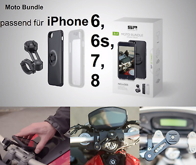 SP CONNECT Motorrad Smartphone Halterung MOTO BUNDLE Apple iPhone 8/7/6S/6